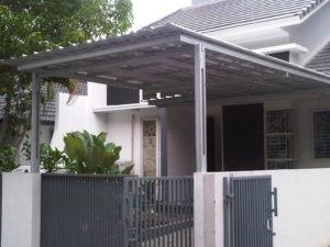 canopy rumah galvalum