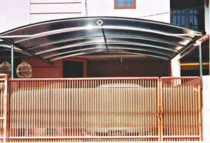 kanopi gresik stainless murah