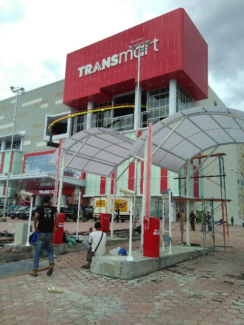 Kanopi Parkiran Transmart Sidoarjo