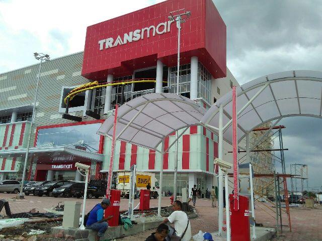 Kanopi Parkiran Transmart Sidoarjo